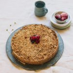 healthy apple crumble pie made of apples from thehellip