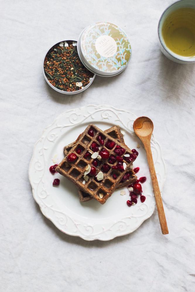 gezonde wafels van bakbananenmeel