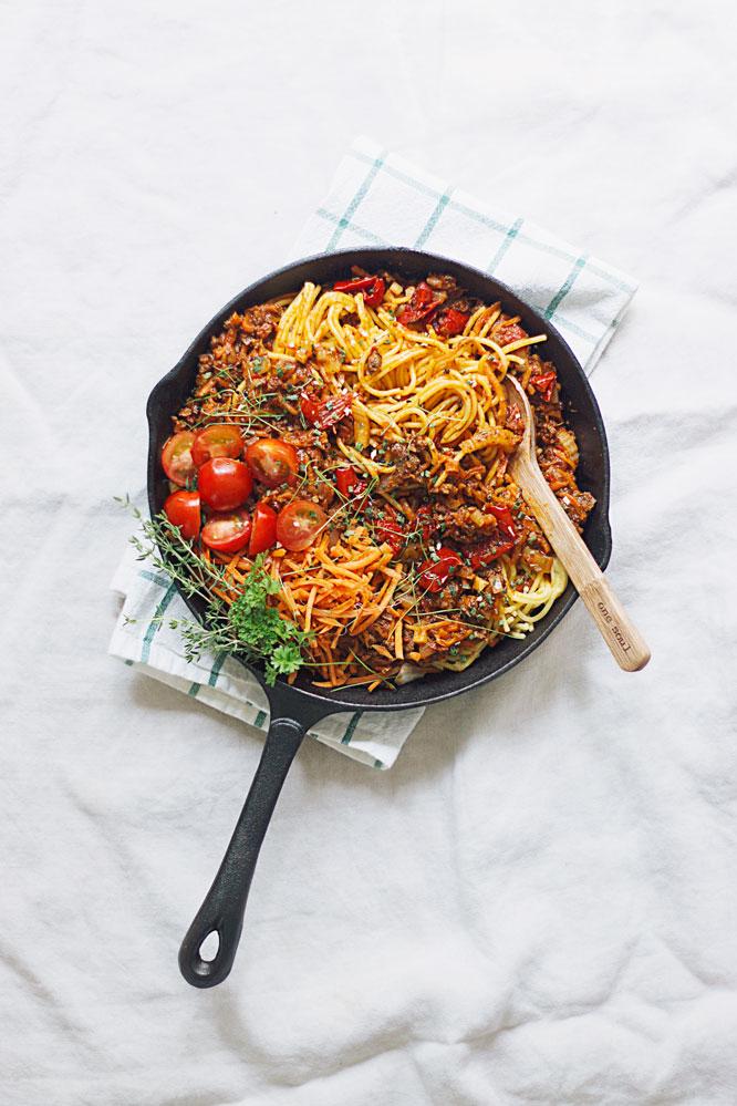 glutenvrije spaghetti bolognese