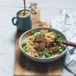 easy dinner tonight? Consider this falafel quinoa bowl hellip