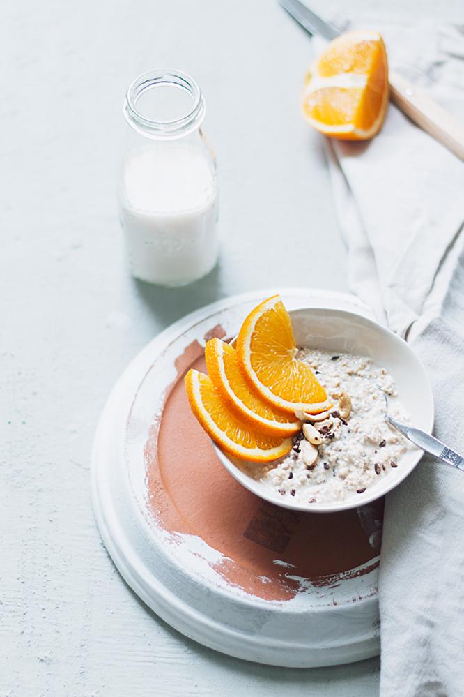 suikervrije overnight oats