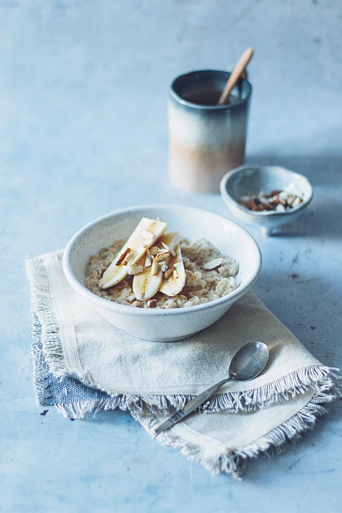 snel ontbijt met havermout